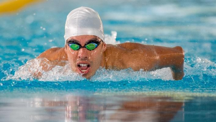 Daniel Dias competes at the London 2012 Paralympic Games
