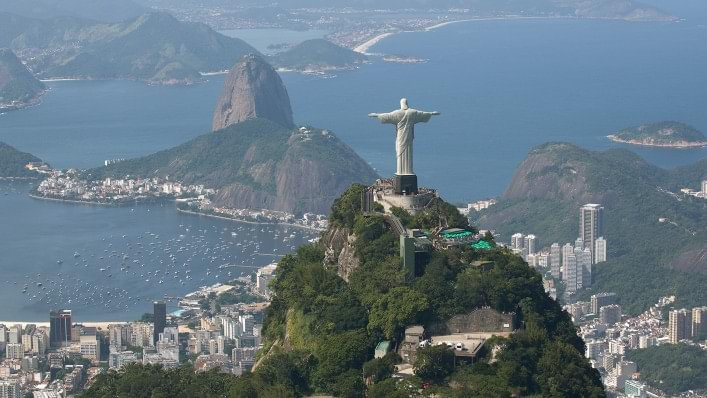 Christ the Redeemer overlooks Rio de Janeiro as the city prepares to host the 2016 Paralympic Games