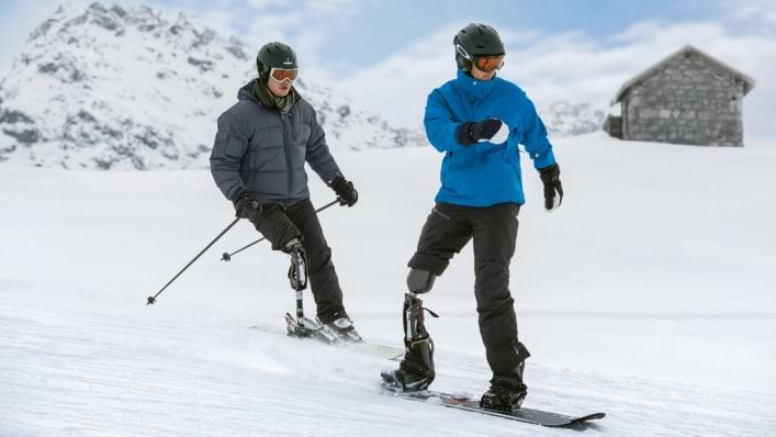 ProCarve Skiing Prosthesis