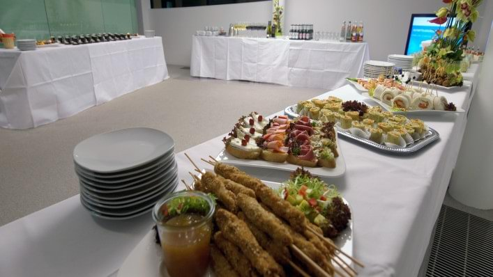 Impression Catering Foyer