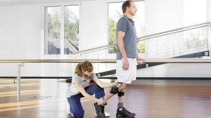 Gait training with your therapist at the Ottobock Competence Centre