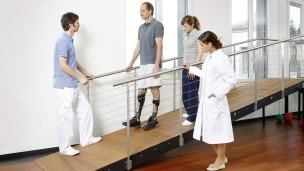 Your rehabilitation team consisting of your orthotist, your therapist and your doctor approve your custom leg orthosis