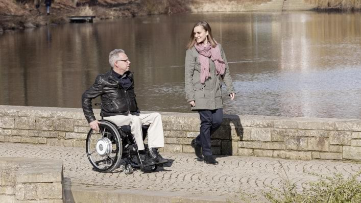 e-Support wheelchair solution.