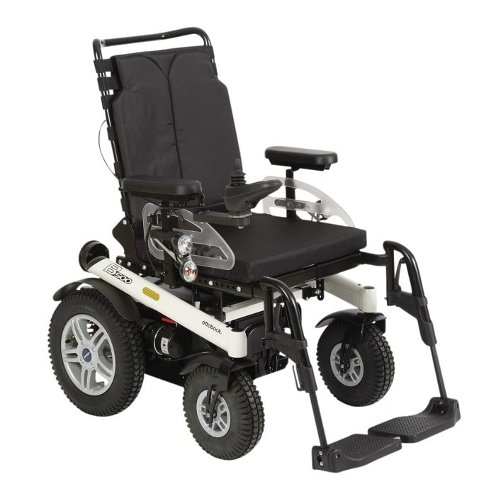 Bernie Green used an Ottobock B500 wheelchair to leave his house and vote in the 2015 General Election.