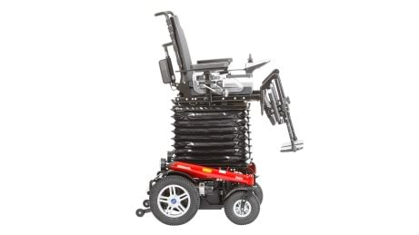 B500 with electric seat height adjustment