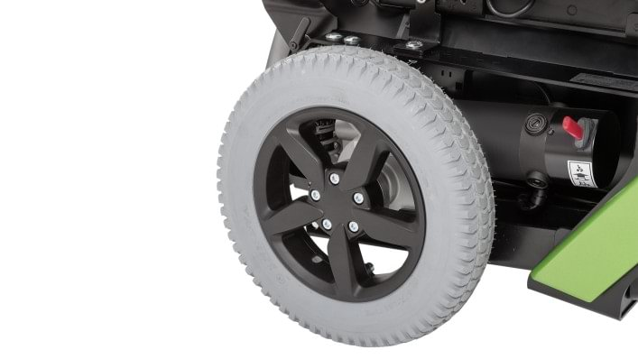 Juvo B4 drive wheel suspension