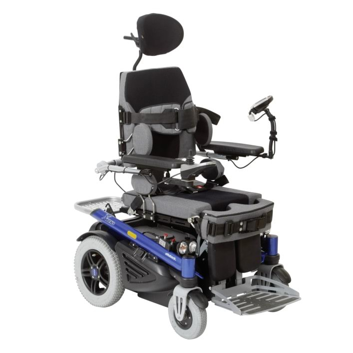 Xeno stand-up wheelchair