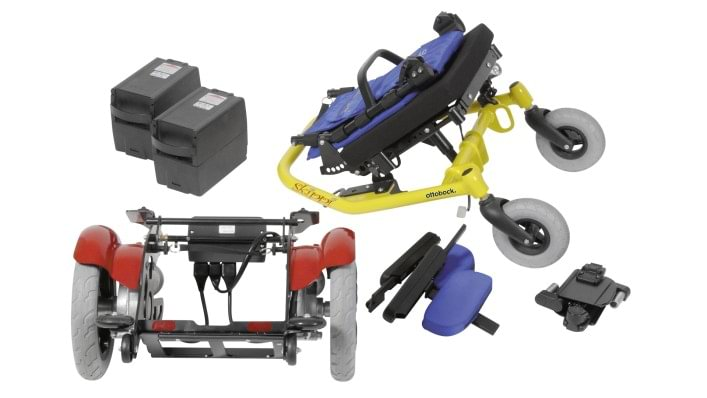 The Skippi is easy to take apart into handy units for transportation.