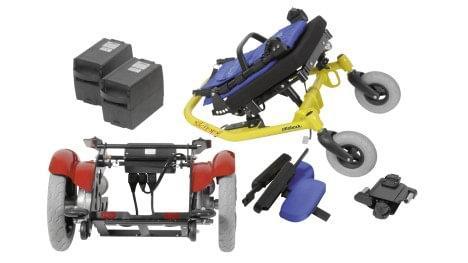 Skippi łatwo można rozłożyć na części w celu do transportu.