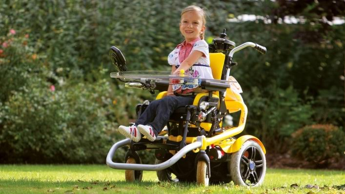Skippi kids power wheelchair