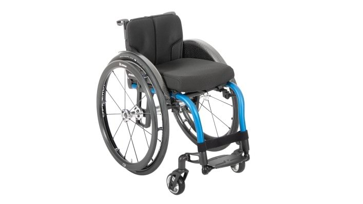 Overview of the Zenit R wheelchair for active use