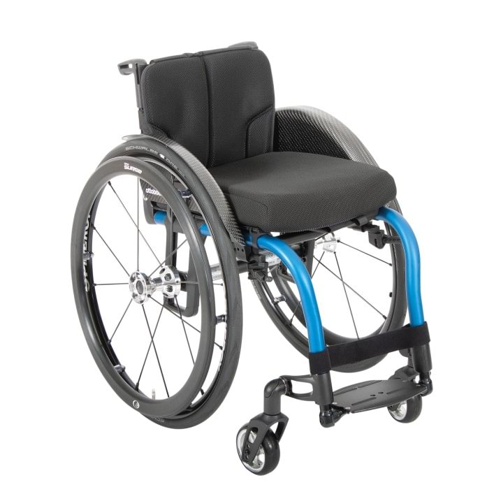 Overview of the Zenit R high-end rigid-frame wheelchair