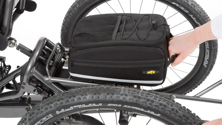 Handbike luggage box