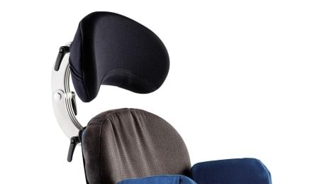 Adjustable headrest of the Everyday therapy chair