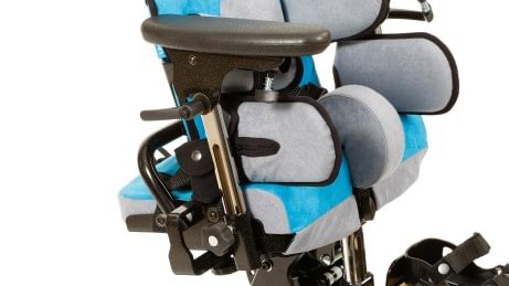 Pelvic supports of the Everyday therapy chair