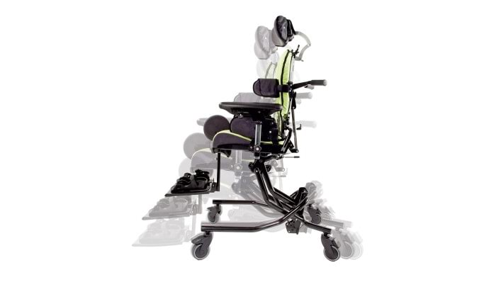 Hi-Low chassis of the Everyday therapy chair