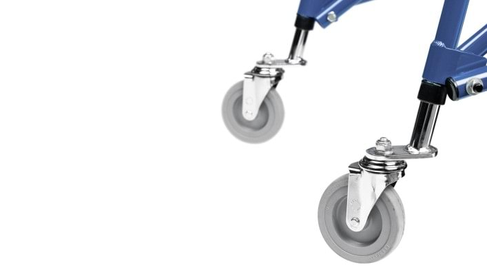 Walk Star swivelling front wheels