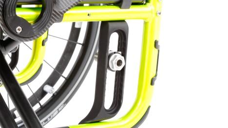 Adaptador da roda traseira da Avantgarde CS