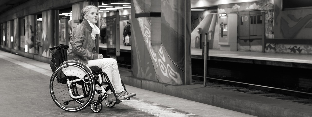 Lightweight Ottobock wheelchair