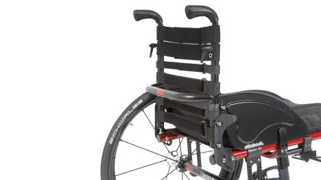 Adaptacyjne oparcie wózka Ventus