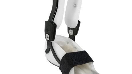 Individual adjustment of the ankle joint on the Aqualine orthosis system