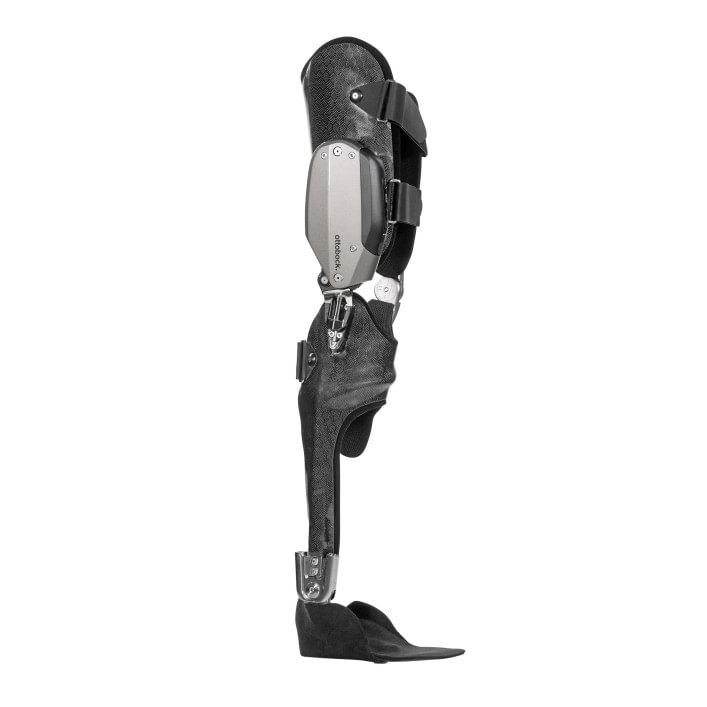 Angled front view of the C-Brace® orthotronic mobility system