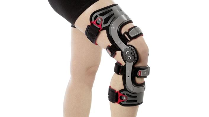 Optimum fit of the Genu Arexa knee brace