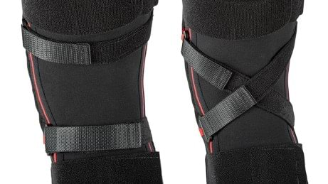 Variable straps of the Genu Direxa Stable and Genu Direxa Stable open knee supports
