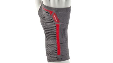 Anatomical compression zones of the Manu Sensa wrist support