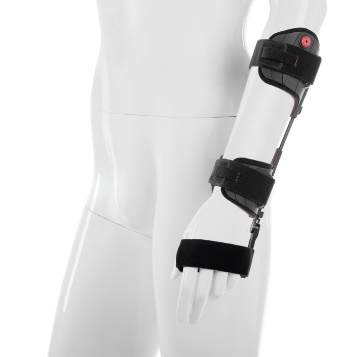 The Manu Neurexa plus wrist orthosis is an orthosis that is used to treat nerve damage in the area of the arm, wrist and hand.