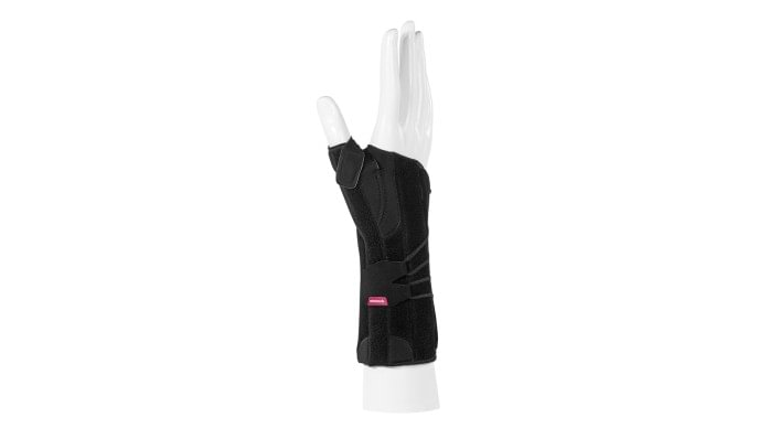 View of the Ottobock Manu Arexa Pollex wrist orthosis