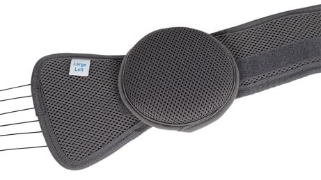 Pads of the lumbar spine belt Smartspine SI support