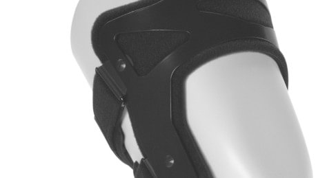 Robust aluminium frame of the Xeleton knee orthosis