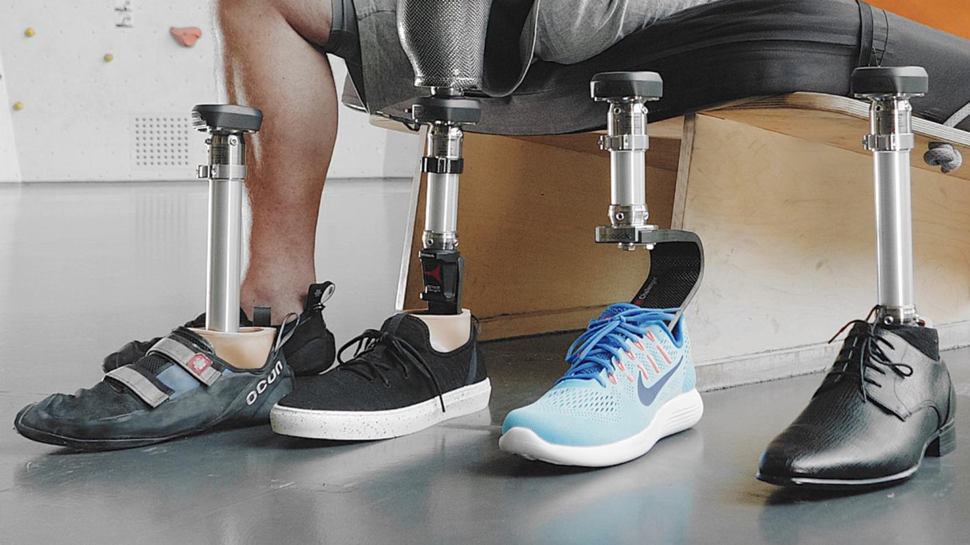 Quickchange adapter for changing prosthetic feet | Ottobock UK