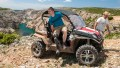 John wearing his X3 stepping out of an off-road buggy