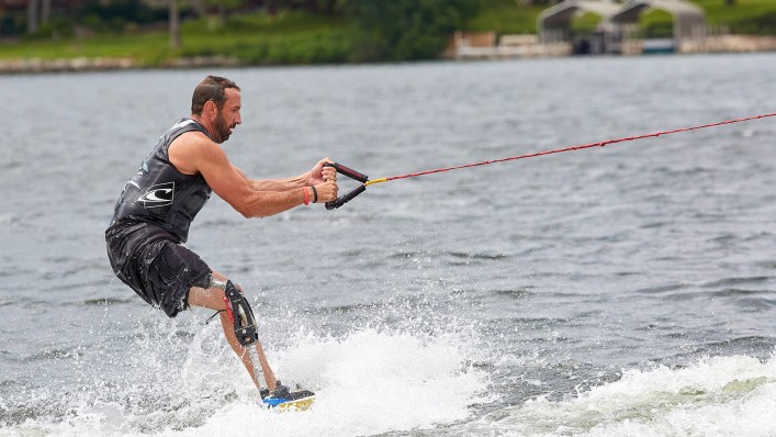 Men is wakeboarding with a ProCarve.