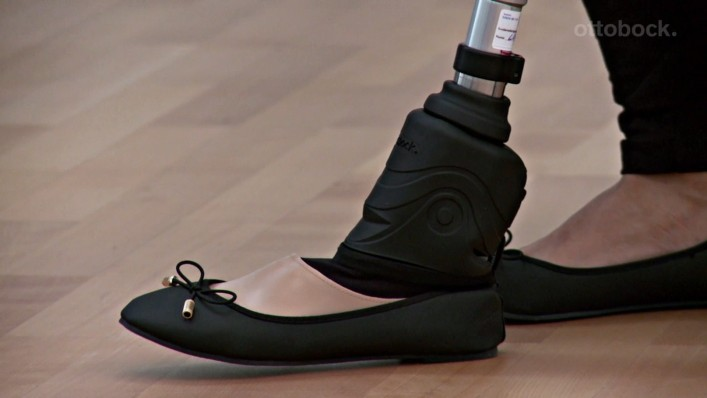 Triton smart ankle training video for relief function