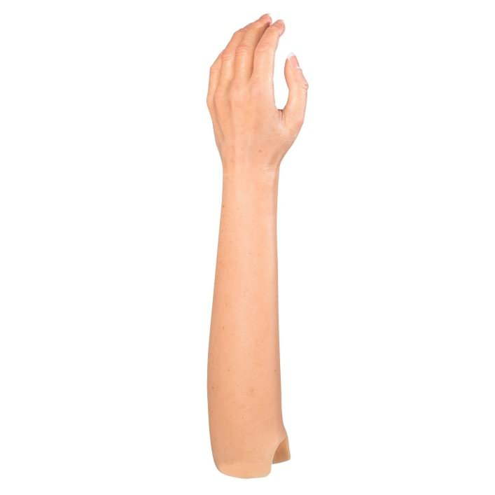 Silicone cover for arm prostheses