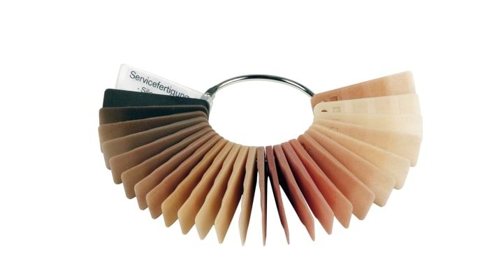 Silicone cover colour fan