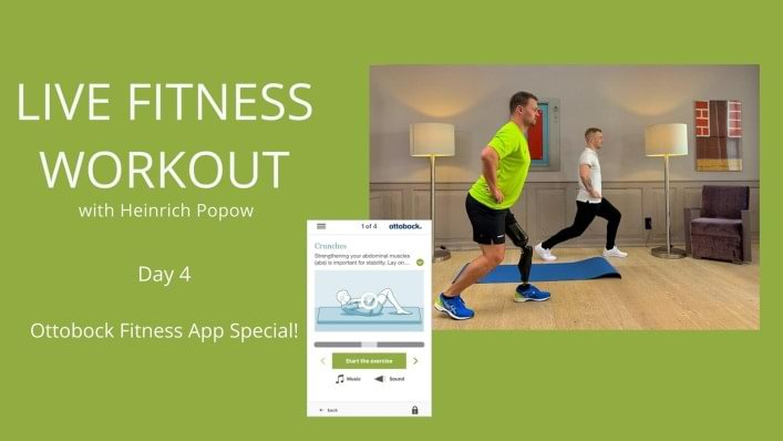 Day 4 | Ottobock fitness app workout