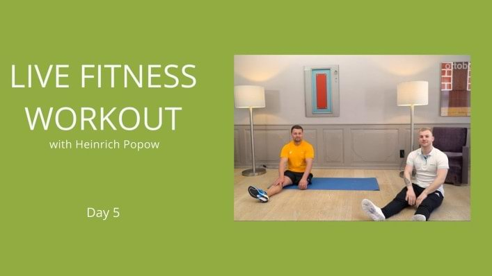 Day 5 | Workout without a prosthesis