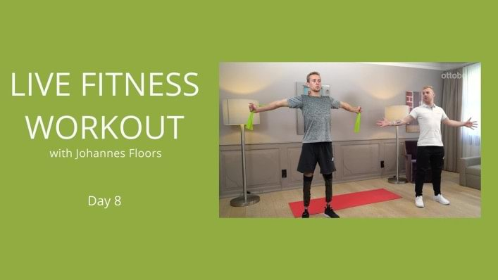 Day 8 | Upper body fitness workout