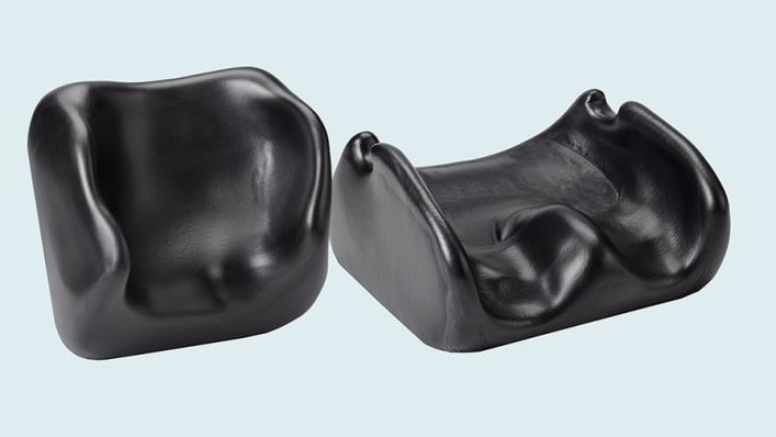 OBSS custom molded seat and back cushions.