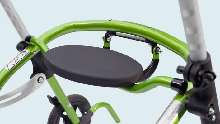 Fold-up seat on Nurmi Neo Walker