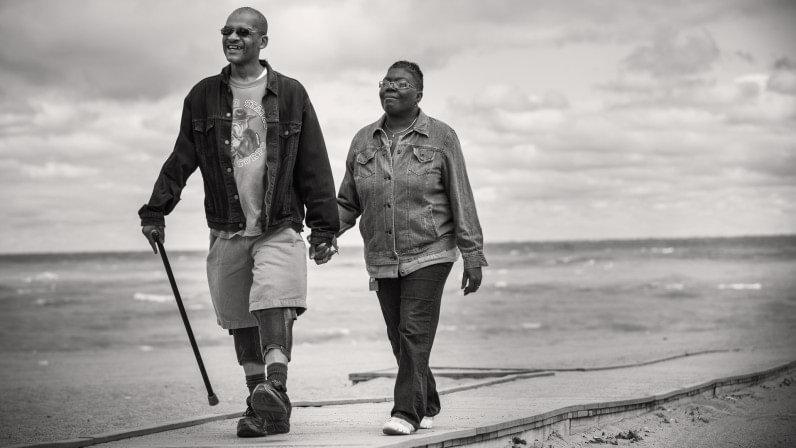walking with leg braces stories