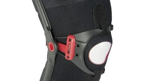 Patella opening of the Patella Pro knee orthosis