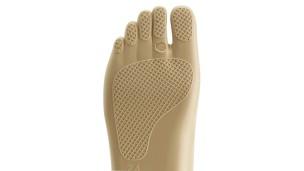 Perfil de la suela en la parte inferior del pie