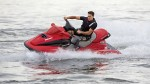 Andrew with Genium X3 riding a jet ski